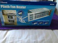 Eterna plinth fan heater, new