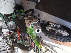Monster energy dirt bike 250 4 stroke
