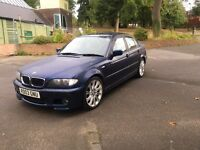 2003 BMW 320d Sports 2.0 Diesel 6 SPEEDED GEARBOX 12 MOT MAY PX OR SWAP