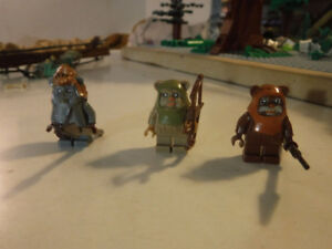 Fake Lego Star Wars Ewoks