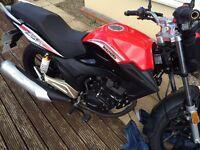 Motorbike Lexmoto 125cc