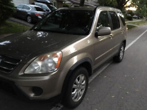 2006 Honda CRV EX Leather