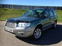 2007 SUBARU FORESTER XC 2.0 16V 4X4 AWD ESTATE - IMMACULATE - TOP SPEC - 3 MONTHS WARRANTY
