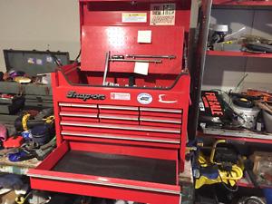 Snap-on 9 drawer top tool box
