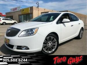 2014 Buick Verano Leather Group Navigation Sunroof Leather