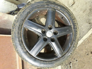 235/45ZR17 tires and wheels Audi