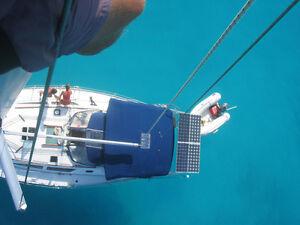 Voilier 40 pieds déjà aux Caraibes