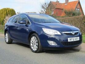 2012 Vauxhall Astra 1.7 CDTi 16V ecoFLEX SE 5DR TURBO DIESEL ESTATE ** 75,000...