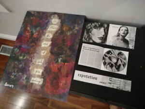 Taylor Swift reputation album cd with exclusive poster