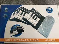 Keyboard piano battery operated