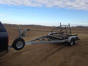 24 ft tandem wheel boat trailer