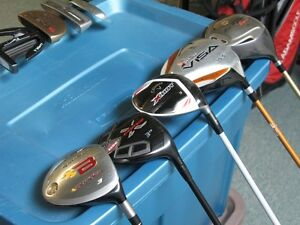 Right Handed Drivers, Fairway Woods, Putters, Hybrids
