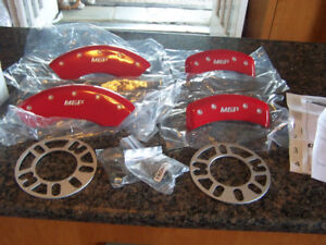 New MGP Red Sonata Caliper Covers 28163SMGPRD