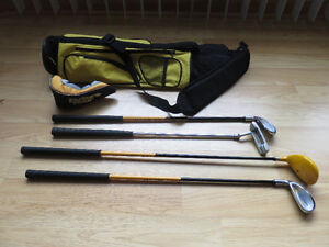 Junior Golf Clubs & Bag