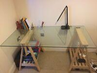 Modern Glass Desk