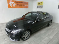 Black Mercedes-Benz C220 AMG 2.1CDI Auto ***FROM £529 PER MONTH***