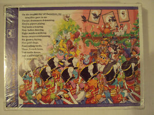 Muppet Babies 12 Days of Christmas Frame Puzzles