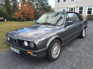 1989 BMW 320i Convertible - Imported from Germany