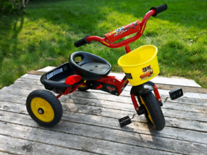 Lightning McQueen tricycle