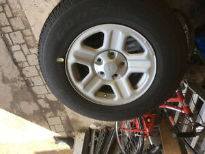 NEW 2017 Jeep Wrangler SET OF TIRES AND RIMS X5 FOR SALE $500