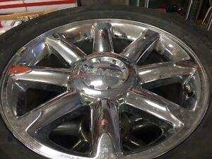 """GMC Denali 20"""" Rims and Tires"""