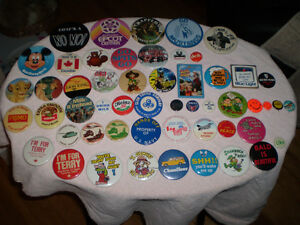 VINTAGE PINBACK BUTTONS