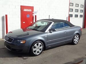 2004 Audi A4 3.0L Convertible ~ 69,000kms ~ One owner ~ $13,999