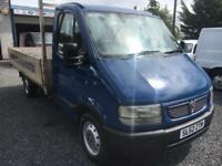 Vauxhall Movano dropside 12 foot alloy body