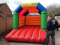 Brand new bouncy castles for sale with blowers and matts!
