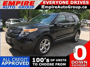 2015 FORD EXPLORER LIMITED * AWD * LEATHER * FULLY LOADED * MOON