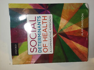 TEXTBOOK: Social determinants of health: A comparative approach.