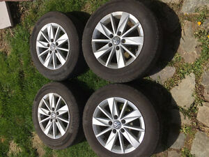 VW Golf rims and tires