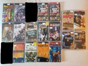 PSP Games and Movies - $150 FOR ALL!