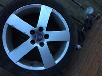 Saab alloy wheels 17 inch