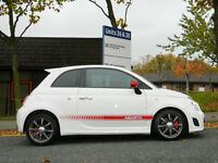 2009 09 Abarth 500 1.4 T-Jet 3dr WITH LEATHER+INTERSCOPE+FSH++