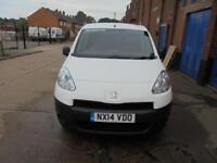 Peugeot Partner 1.6 HDI 2014 / 14 REG NO VAT