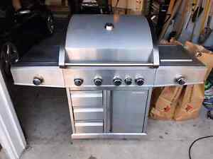 Stainless Steel Natural GAS BBQ Barbecue