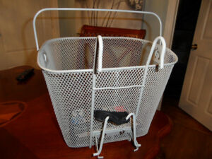"""Brand New Bicycle Basket  13""""x10' -  10 1/2 H."""