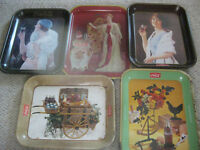 Coca-Cola Metal Serving Trays - $10 each or best offer