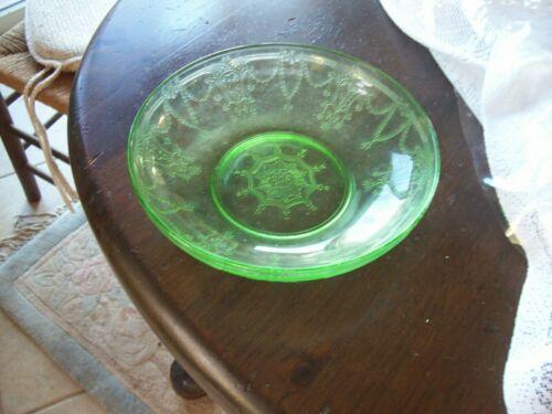"Cameo Ballerina 8 1/4"" green large berry bowl"