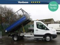 2015 Ford Transit 2.2 TDCi 125ps 'One Stop' Caged Tipper [1 Way] Tipper Diesel M