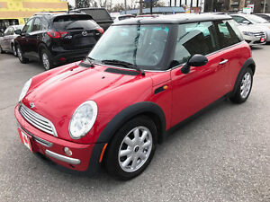 2004 MINI Mini Cooper SPORT, LEATHER...ONLY 62,000KMS..MINT COND
