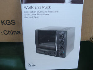 Wolfgang Puck Convection Oven and Rotisserie With Pizza Oven
