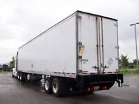 06 44 ft air ride tandem insulated trailer with 3000 lb tailgate