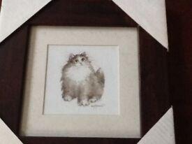 2 cat prints