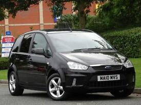 Ford C-MAX 1.6 2010 Zetec Black..1 OWNER + FULL SERVICE HISTORY + WARRANTY