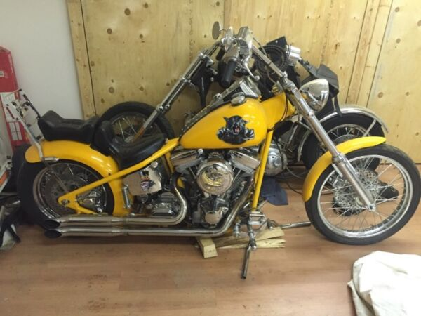 2001 Custom Built Motorcycles Chopper