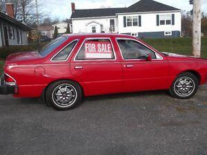 1984 Ford Tempo Sedan