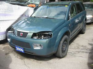 2006 SATURN VUE, PARTING OUT INCLOUD ALLOY WEELE 17""