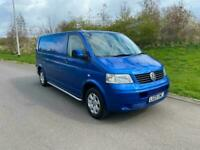 2009 VW TRANSPORTER T5 T30 1.9 TDI LWB RAVEN BLUE *** NO VAT ***